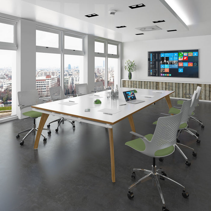 Fuze Rectangular Boardroom Table