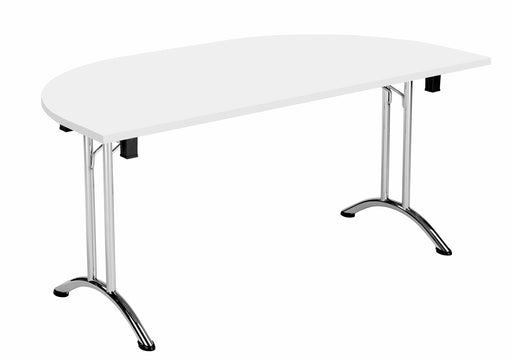 One Union Folding Meeting Table D End