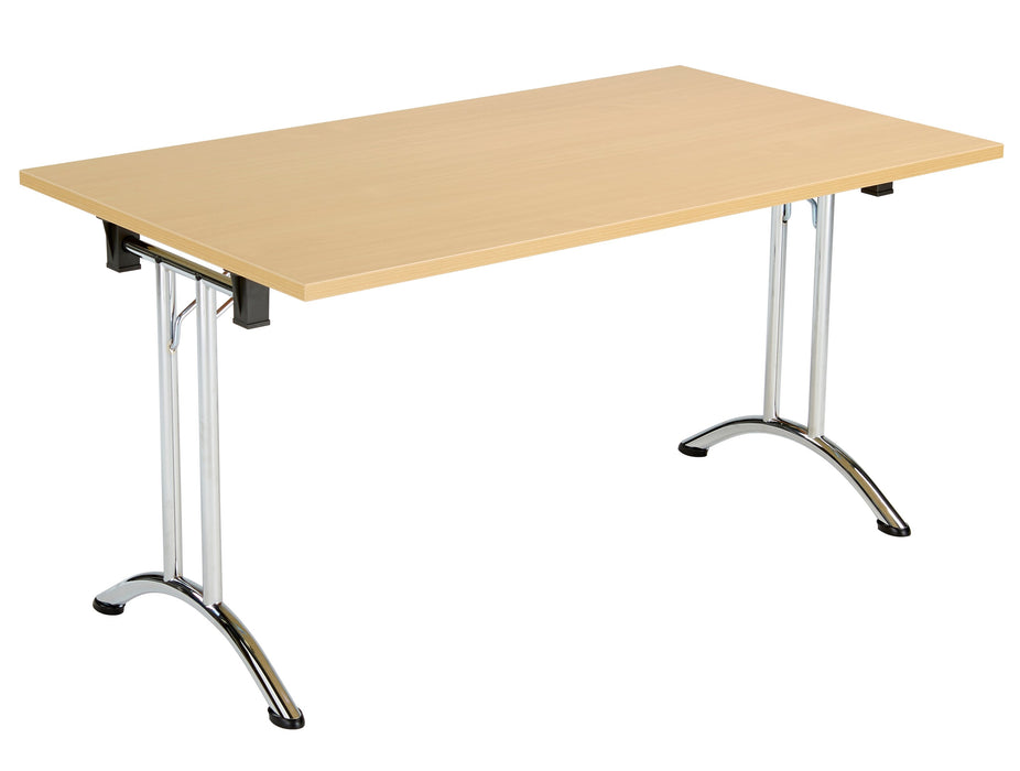 One Union Folding Meeting Table 800mm Deep