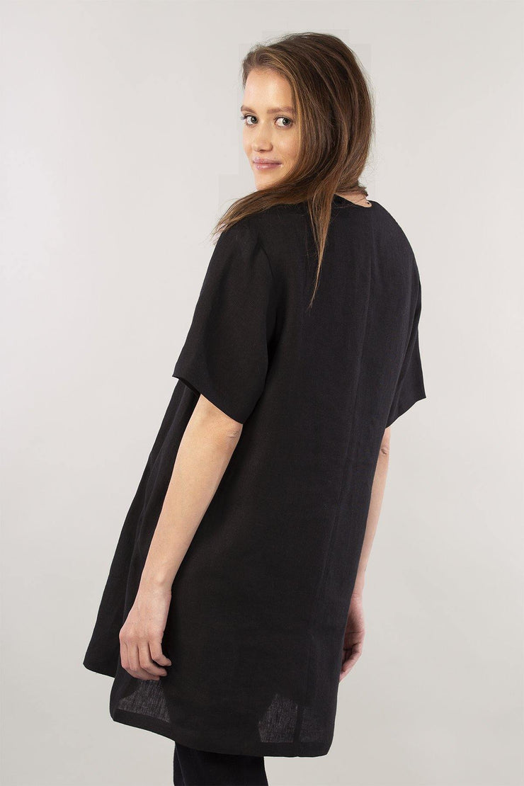 MIAM Linen Tunic Top