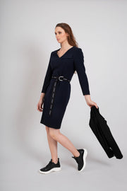 Buy online sustainable Dresses from Finland - MIAM Smart Dress Navy