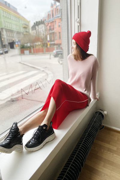 MIAM Gia Sport Skirt Red