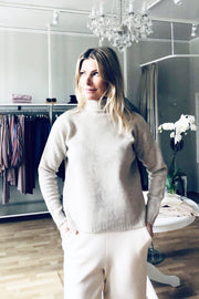 Buy online sustainable Tops from Finland - MIAM Inari Jumper Beige