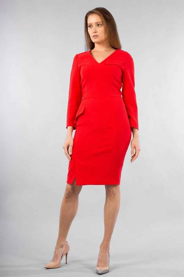 Buy online sustainable Dresses from Finland - MIAM Smart Dress Red