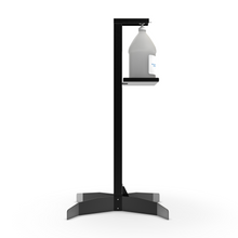 Load image into Gallery viewer, ViraPro Floor Stand Sanitizer Dispenser - Matte Black Powder-Coated Steel