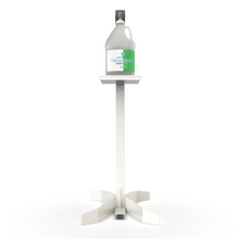 Load image into Gallery viewer, ViraPro Floor Stand Sanitizer Dispenser - Gray Powder Coated Steel