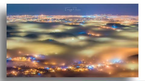 City in Fog