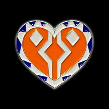 Load image into Gallery viewer, Ahsoka Heart Pin