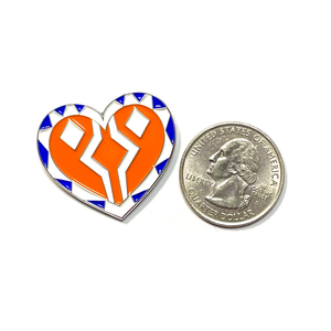 Ahsoka Heart Pin