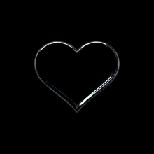 Load image into Gallery viewer, Tiny Black Heart Pin
