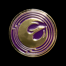 Load image into Gallery viewer, Rebels Starbird Pin (purple)