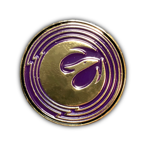 Rebels Starbird Pin (purple)