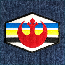 Load image into Gallery viewer, Rebel Alliance Squadron Stripes Patch