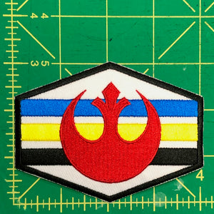 Rebel Alliance Squadron Stripes Patch