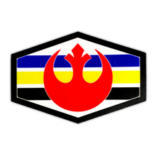 Load image into Gallery viewer, Rebel Alliance Squadron Stripes Sticker