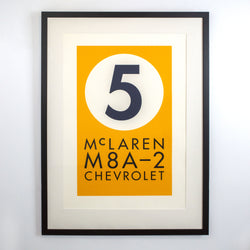 Load image into Gallery viewer, Paying Tribute #5. McLaren M8A-2