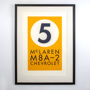 Paying Tribute #5. McLaren M8A-2