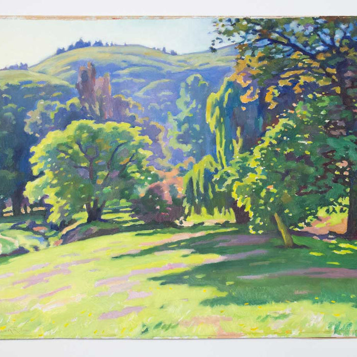 Owen Lee - Spring Morning on the Port Hills