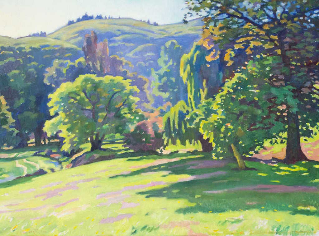 DETAIL: Owen Lee - Spring Morning on the Port Hills