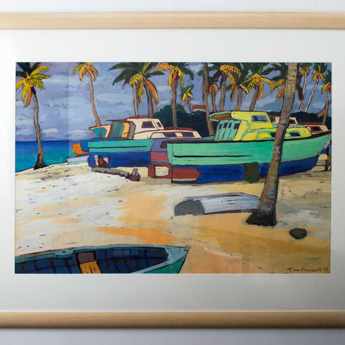 Tom Burnett - Weston Fishing Village, Barbadoes