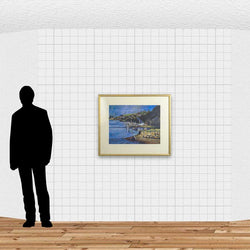Load image into Gallery viewer, Evening At Taieri Rivermouth
