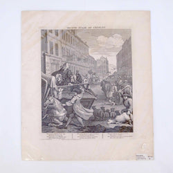 Load image into Gallery viewer, William Hogarth - The Second Stage of Cruelty