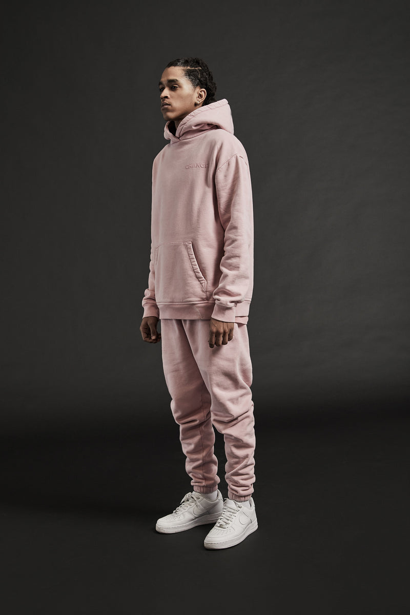 LIFE LINE PULLOVER HOODIE - MAUVE