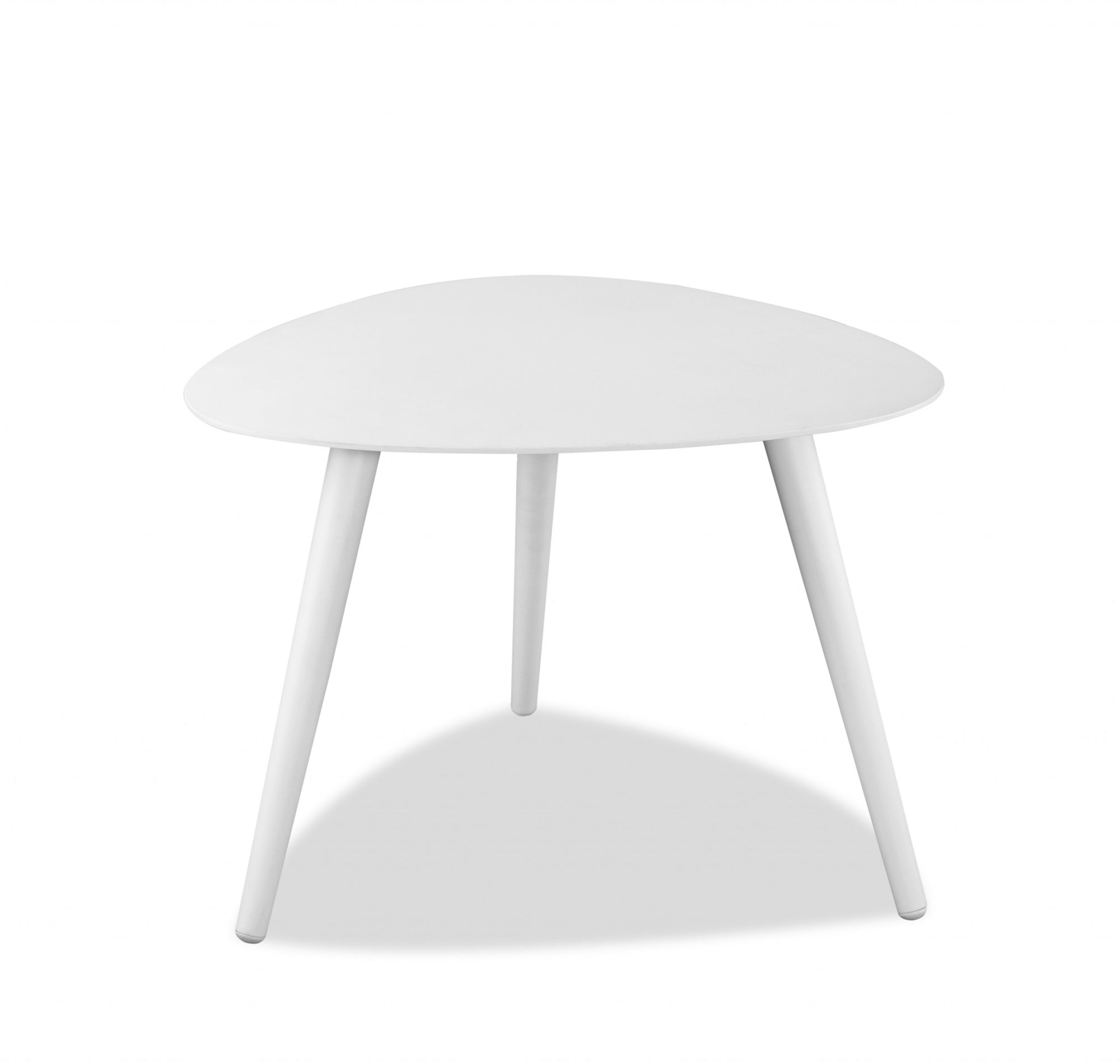 "27"" X 24"" X 16"" Powder Aluminum Side Table"