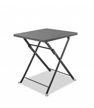 "16"" X 16"" X 18"" Powder Aluminum Side Table"