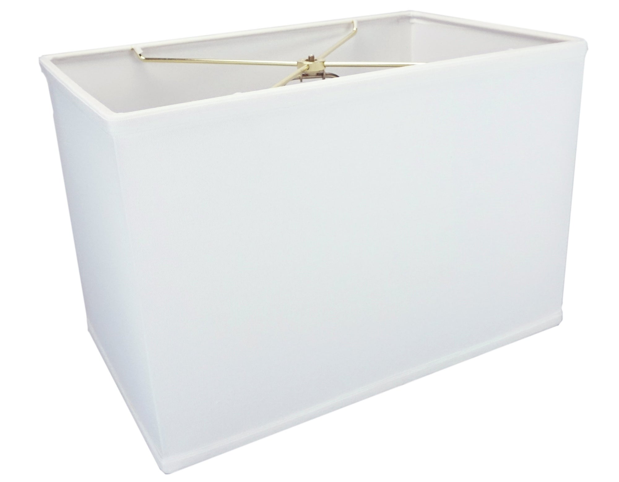 Rectangular Drum Lampshade (10x16) (10x16) x 11 Softback White