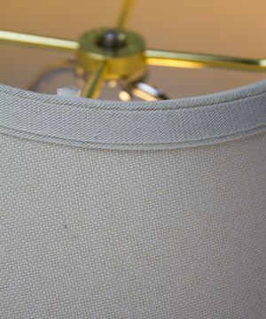 7x20x12 Light Oatmeal Hardback Coolie with Linen White Liner