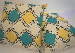 54302 Cushion Covers 45 x 45 cm Hidden Invisible Zip Pack of 2