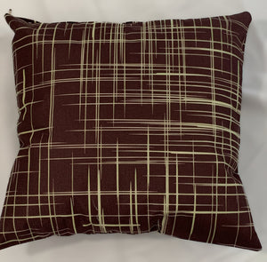 Cushion Covers Style 62908 Cotton Linen 45 x 45 cm for Sofas, Beds