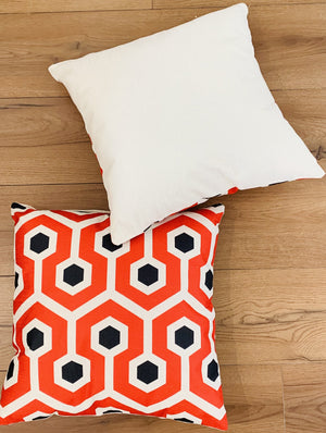 63002 Cushion Covers 45 x 45 cm Hidden Invisible Zip Pack of 2