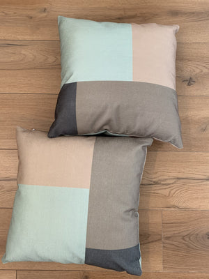 49604 Cushion Covers 45 x 45 cm Hidden Invisible Zip Pack of 2