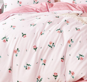Isabella Rose Only 100% Cotton Reversible Comforter Set