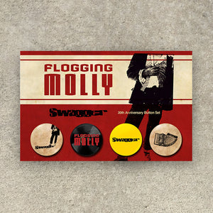 Flogging Molly Swagger Pins