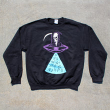 Load image into Gallery viewer, AJJ - Spaceship Made of Death Crewneck