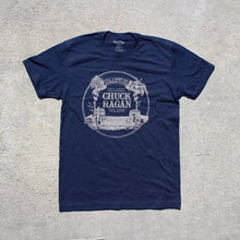 Load image into Gallery viewer, Chuck Ragan - Fuel N' Boots Navy Shirt