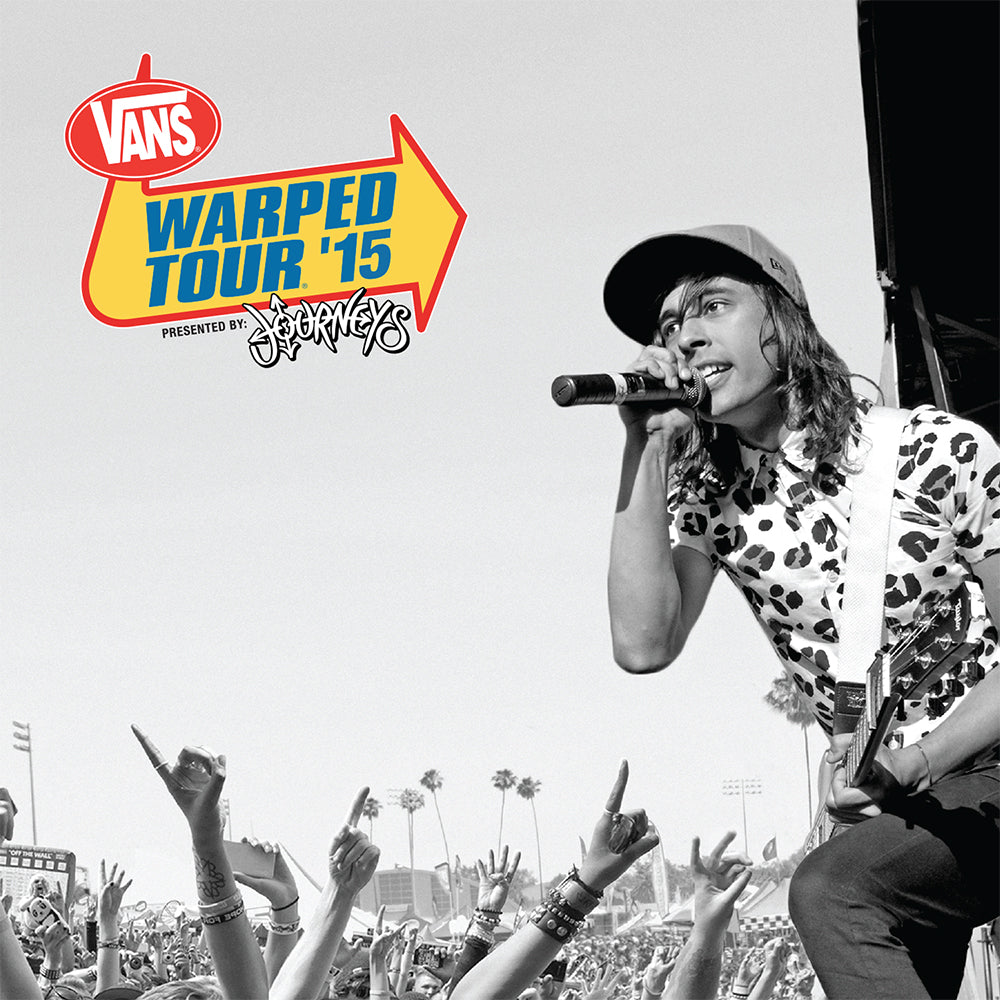 2015 Warped Tour Compilation CD