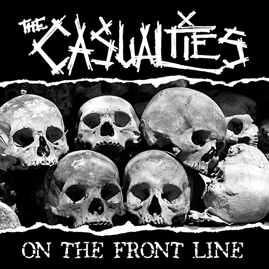 The Casualties - On The Front Line CD