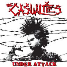 Load image into Gallery viewer, The Casualties - Under Attack LP / CD