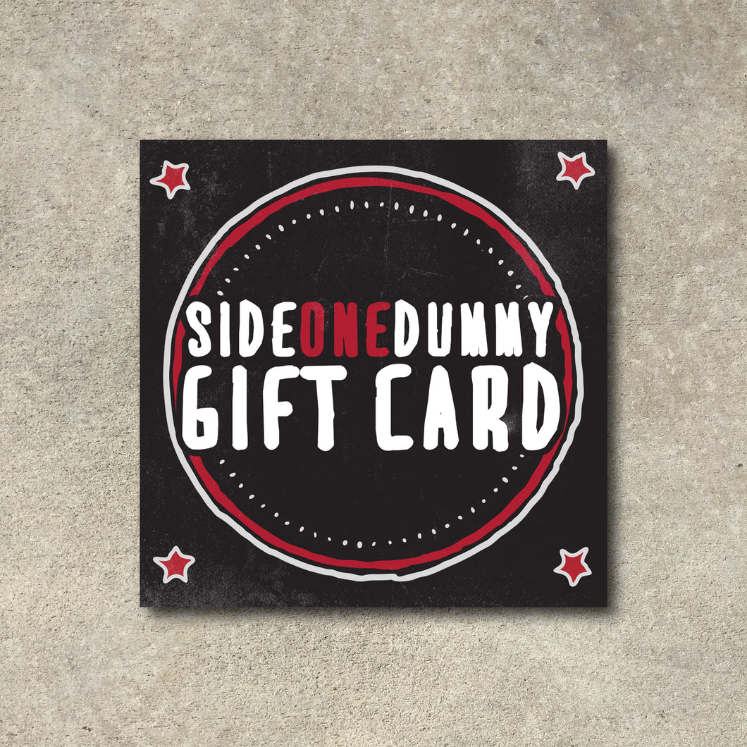SideOneDummy Gift Card