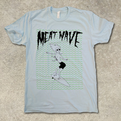 Meat Wave - The Incessant Blue T-Shirt