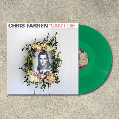 Chris Farren - Can't Die LP / CD / Cassette (2016)