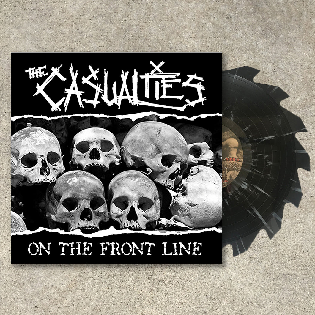 The Casualties - On The Front Line LP