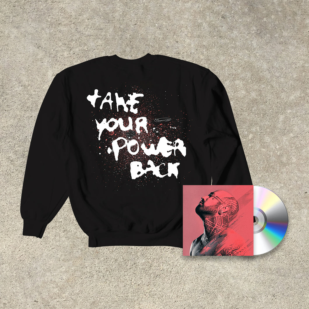 Nahko And Medicine For The People 'Take Your Power Back' Bundle (CD+Crew)