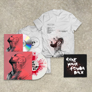 Nahko And Medicine For The People 'Take Your Power Back' Bundle (LP+CD+Tee+Patch)