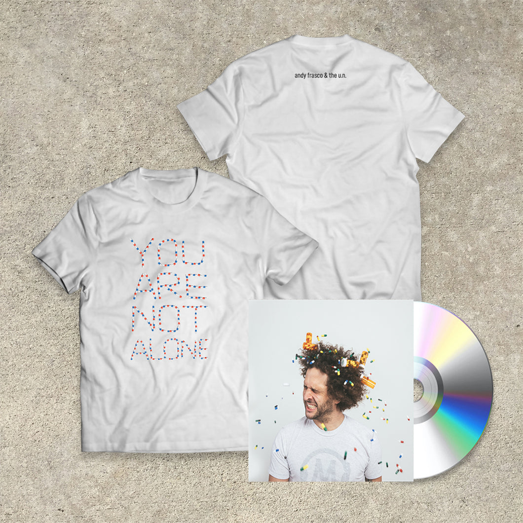 Andy Frasco & The U.N. 'Keep On Keepin' On' CD+Tee Bundle