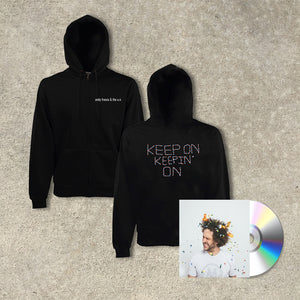 Andy Frasco & The U.N. 'Keep On Keepin' On' CD + Hoodie Bundle
